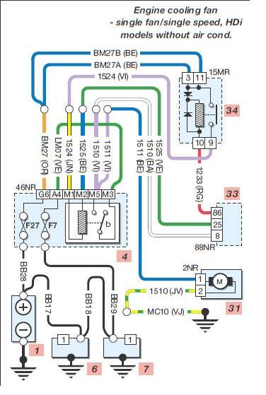 206 MUX  Diagrama de cableados el  ctricos  Parte 1 En Castellano
