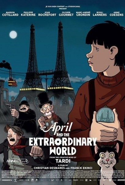 April Và Thế Giới Lạ Thường - April and the Extraordinary World (2015)