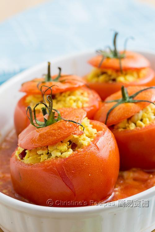 焗釀雞肉蕃茄 【清新前菜】 Stuffed Tomatoes with Chicken