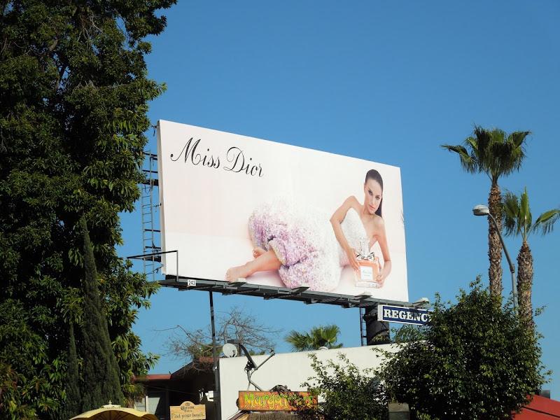 Miss Dior Natalie Portman billboard