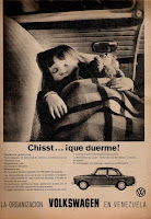 publicidad antigua volkswagen