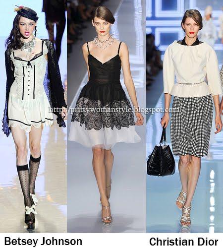 Черно-Бяло мода Пролет/Лято 2012