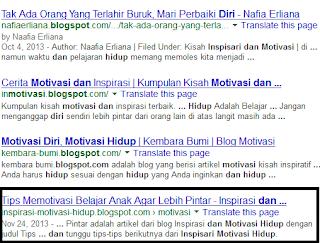 hasil pencarian google http://inspirasi-motivasi-hidup.blogspot.com/