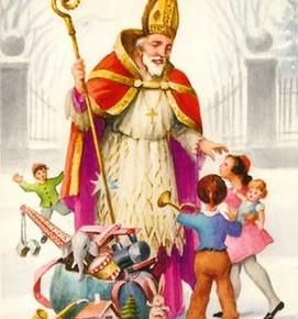 Cadourile pentru copii ale lui Mos Nicolae