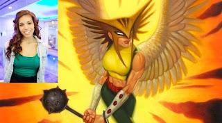 Ciara Renee cast as Hawkgirl