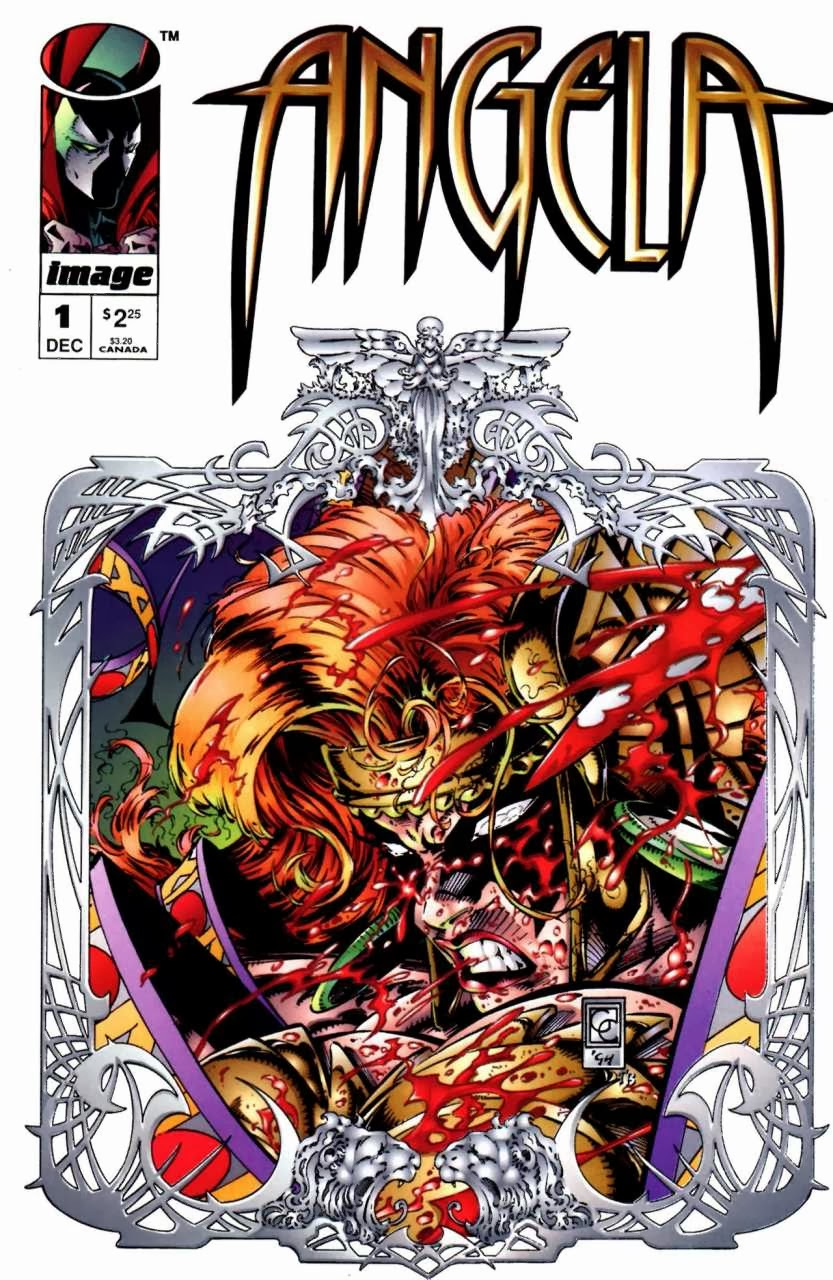 Angela 1 cover 1994 series