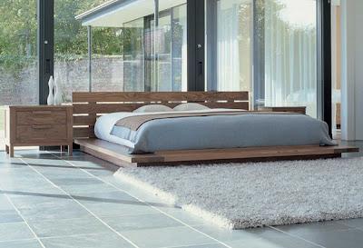 Quarto de casal com cama de tatame papo de design - Cama tipo tatami ...