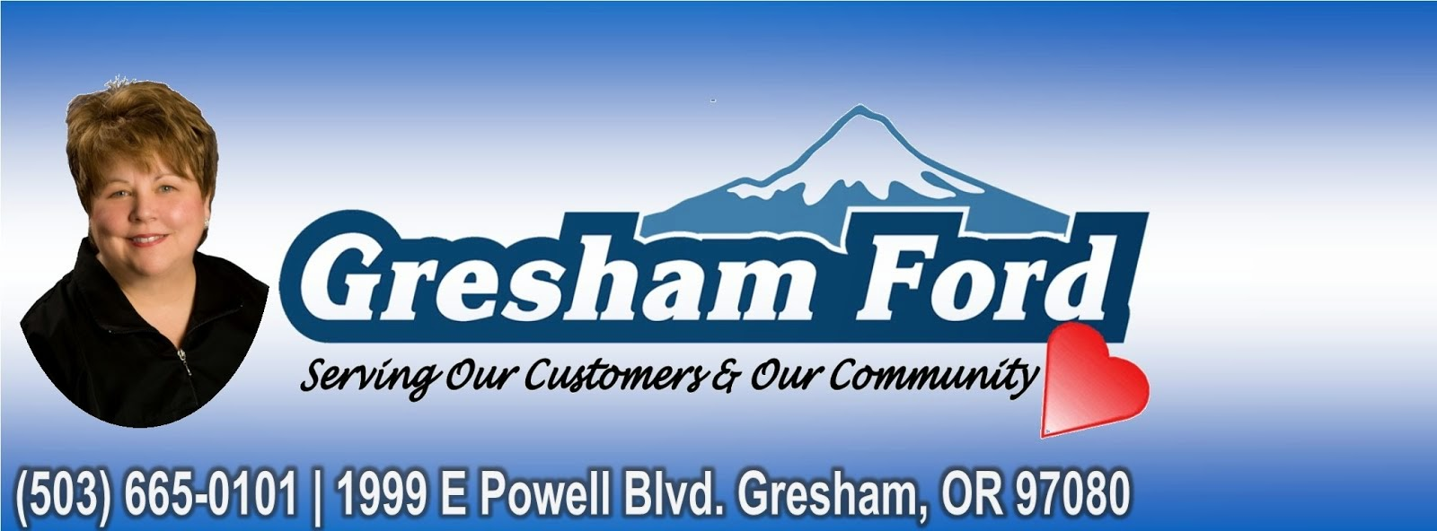 "Gresham Ford's ""Contribute to the Community"" Program"