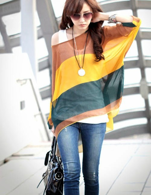 http://www.dresslily.com/colorful-broad-stripe-print-loose-fit-batwing-sleeve-spring-blouse-product338459.html