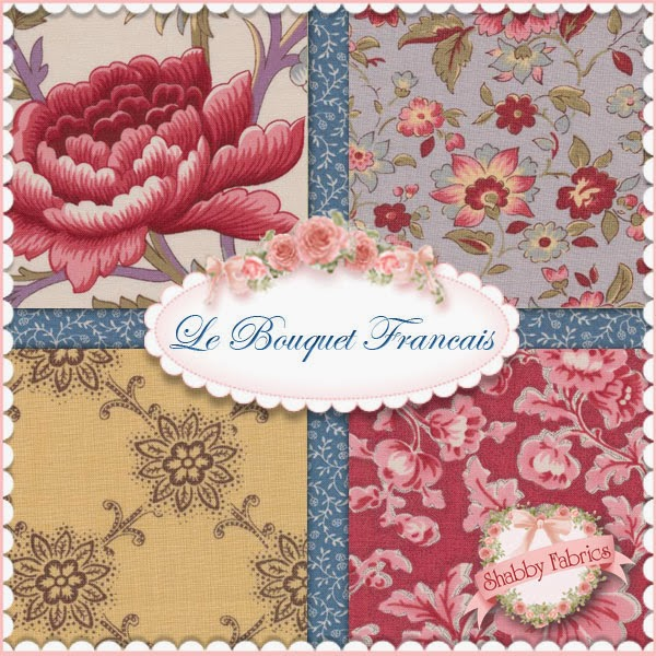 Le Bouquet Francais by French General for Moda Fabrics