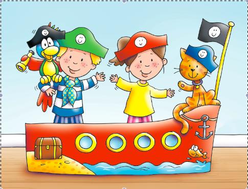 Captain Jack and friends