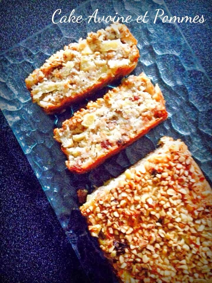 Cake Pommes Flocons D Avoine
