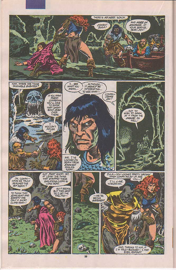 Conan the Barbarian (1970) Issue #250 #262 - English 32