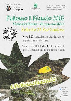 Puliamo il Mondo 2018 - Valle dei Mulini di Gragnano (Na)