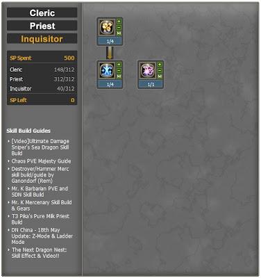 Dragon Nest indonesia Inquisitor Priest PVP/PVE build   denny subangun