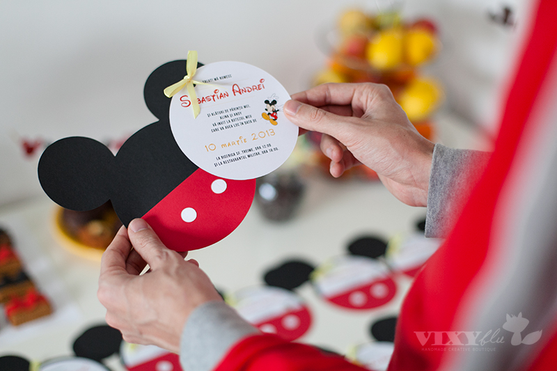 invitatii Mickey, Mickey Mouse, pachet petrecere copii Mickey