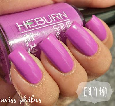 esmalte Heburn