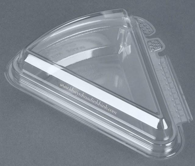 Khay nhựa PET - Hộp nhựa đựng bánh bông lan