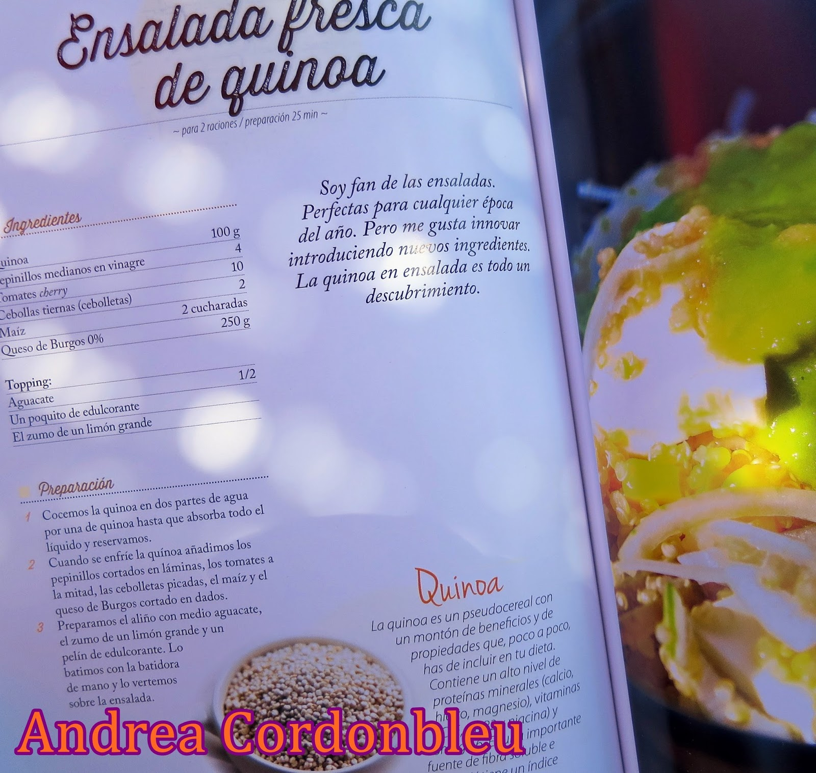 Cordonbleu ensalada fresca de amaranto sin gluten receta proteica vegetariana - La cocina fit de vikika pdf ...