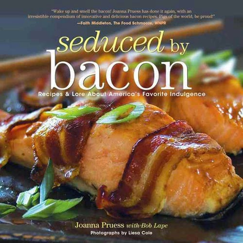 Enter to win a copy of the Seduced By Bacon Cookbook!