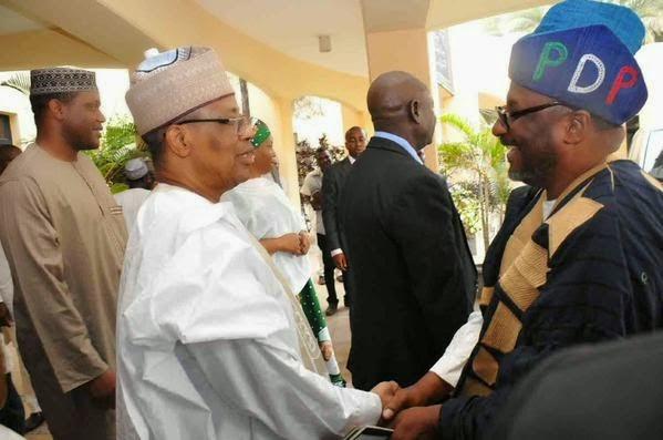 Jonathan Visits Babangida