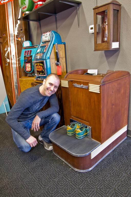 shoe store xray machine