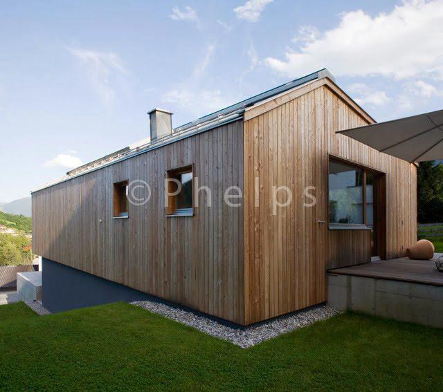EFH Goldegg - LP Architekten - Foto Andrew Phelps