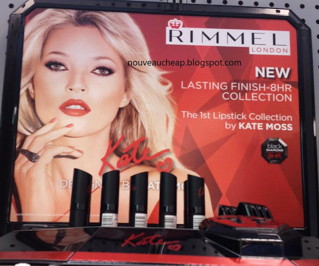 Spotted new rimmel lasting finish 8hr lipstick collection by kate