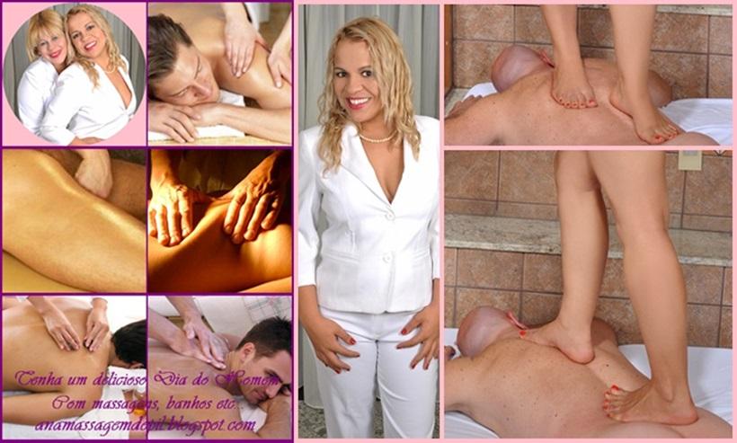 Massagem Relaxante, Prostática e Tailandesa