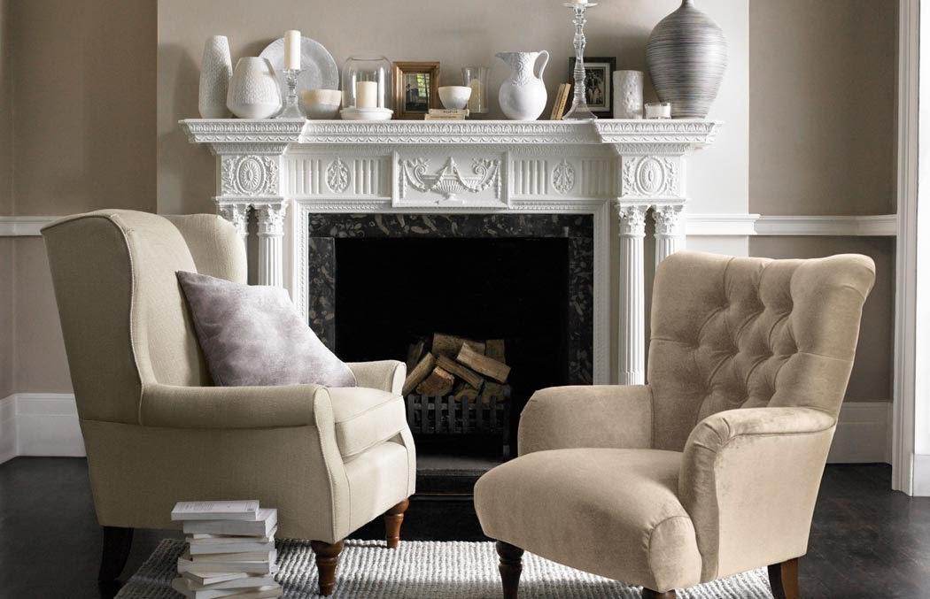 Decoracion de salones con chimenea salon pequeo con - Como decorar un salon con chimenea ...