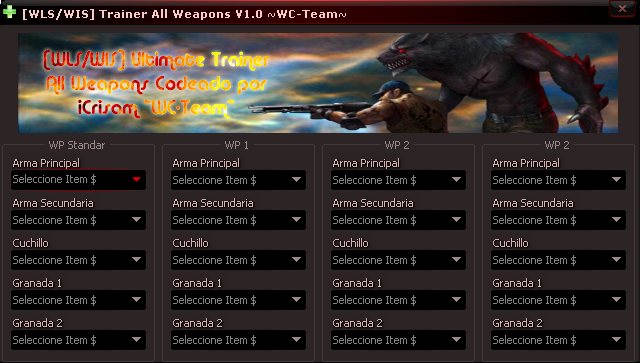 [WLS/WIS] Wolfteam All Weapon Trainer 11.05.2013 indir