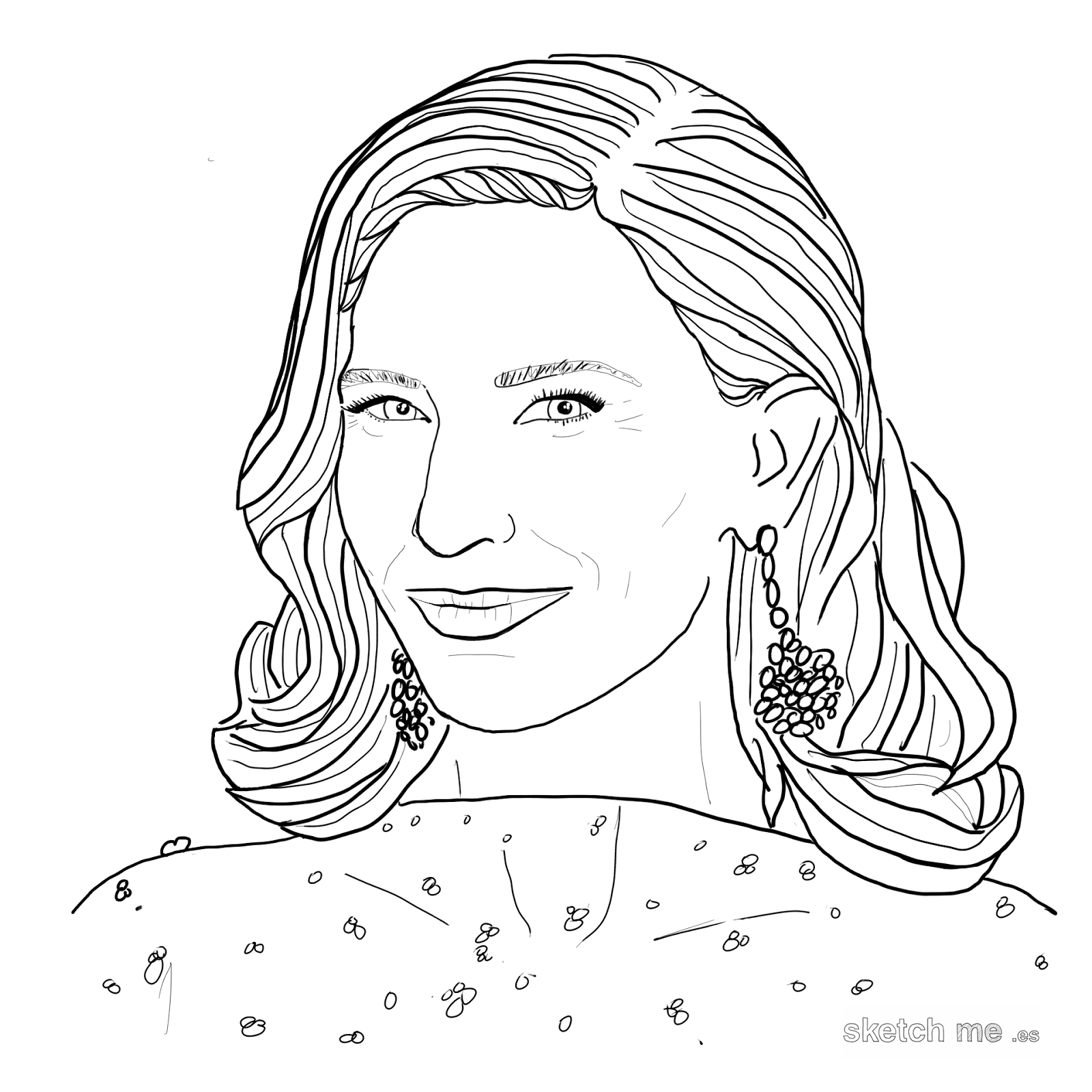 cate-blanchett-sketch-me-custom-portraits-for-facebook-and-twitter-profiles