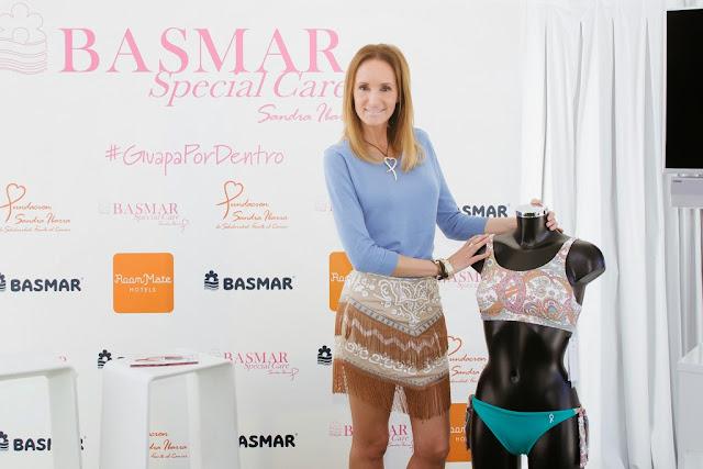 Basmar, Fundación Sandra Ibarra, baño, style, moda, lucha contra el cáncer, Prensa, Colaboración Solidaria