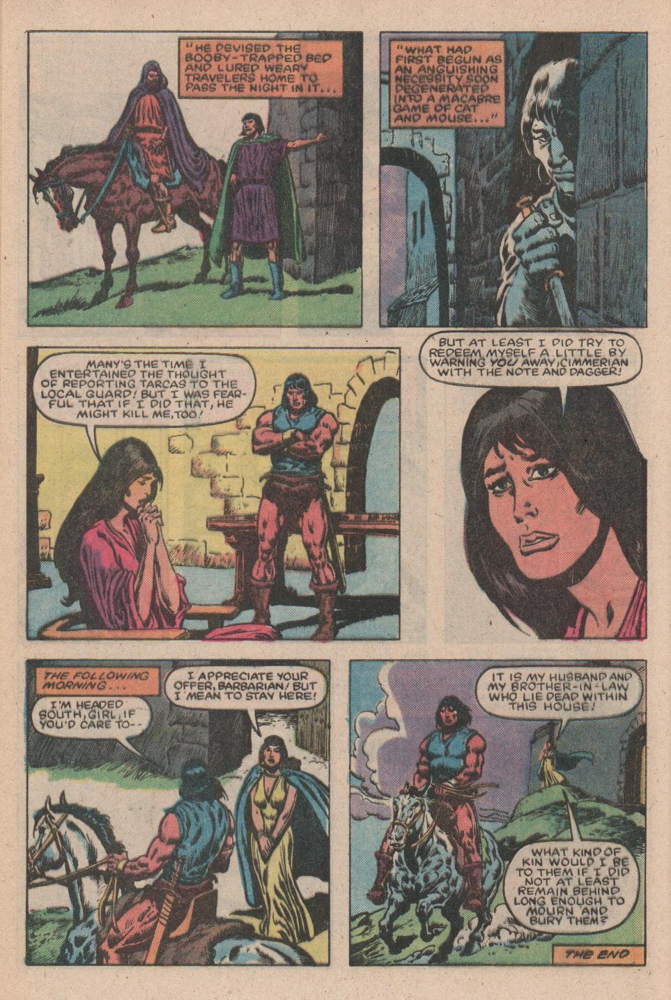 Conan the Barbarian (1970) Issue #156 #168 - English 23