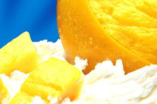 Receta Postre Mango a la Crema