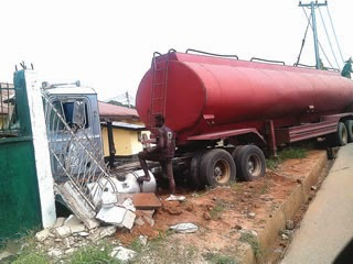 trailer crashed fmc abia