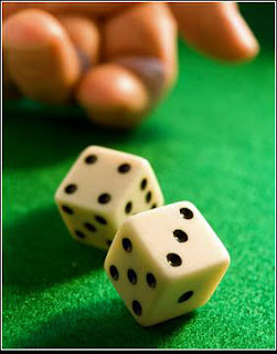 Throwing Dice on Greeen table Mutual Reciprocal Will Wagering Agreement against public policy unlawful