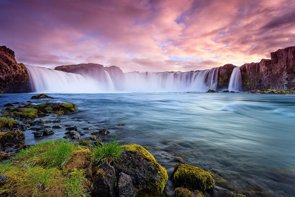2. Waterfall of the Goði