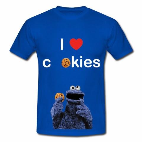 koszulka I love cookies