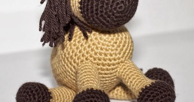 Amigurumis Caballitos A Crochet : Patrones amigurumi caballo tommy