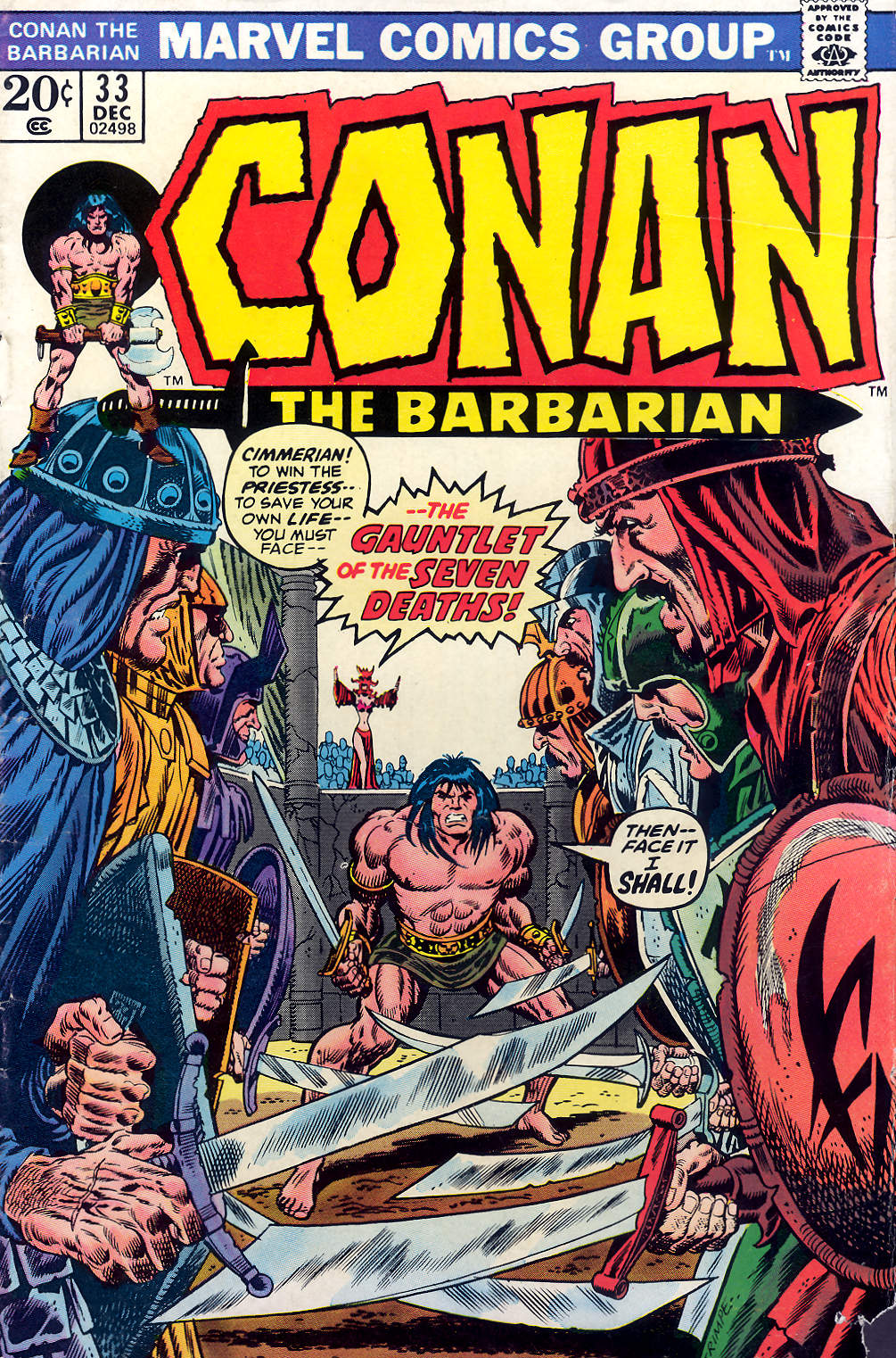 Conan the Barbarian (1970) 33 Page 1