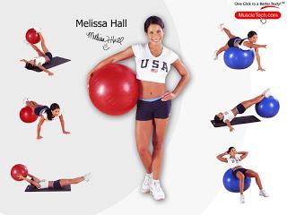 Fitness ball - ćwiczenia z piłką