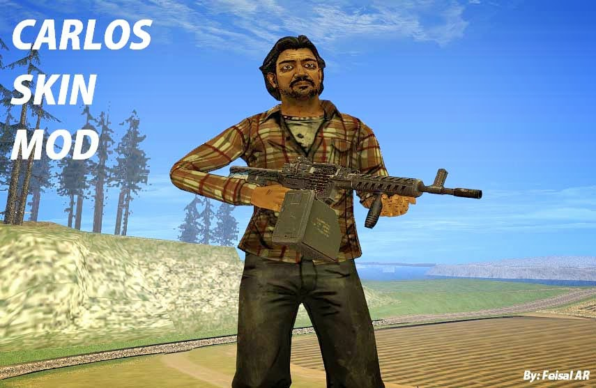 carlos walking dead gta