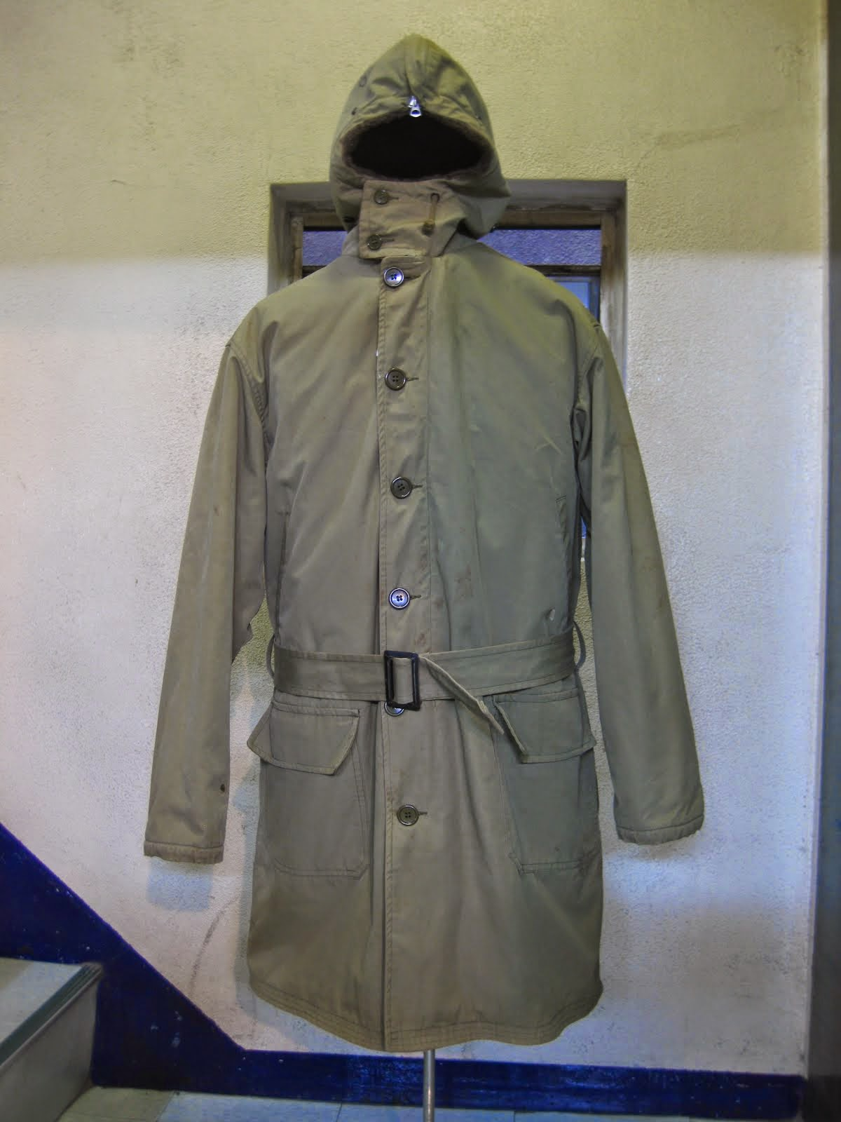 40's W.W.2               U.S.ARMY                  HOODED COAT