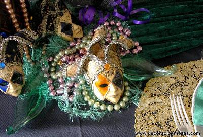 decoracion mesa carnaval 2013 detalle