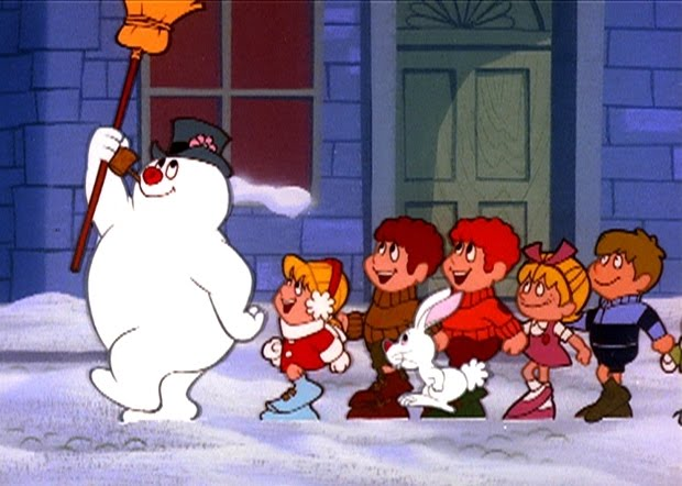 Frosty the snowman cartoon picture 1