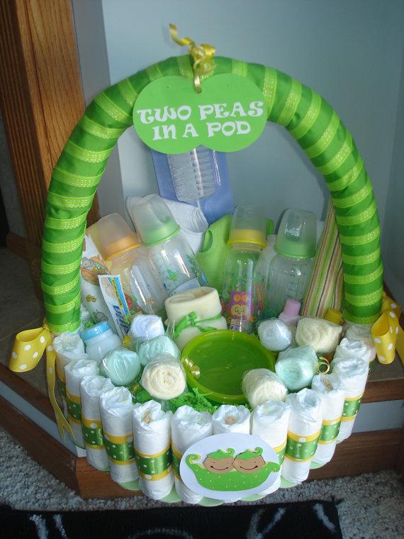 Angi teste 5 ideias originais para ch de beb - Cestas de mimbre para bebes ...