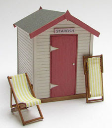 Jane Harrop 1/48th Beach Hut Kit