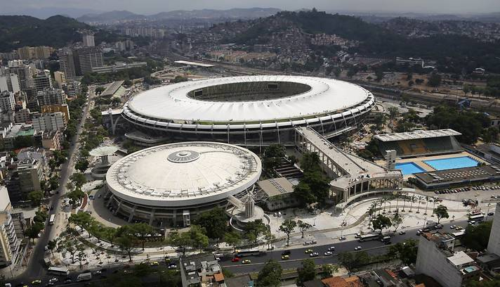 Maracana on Day 27th April 2013