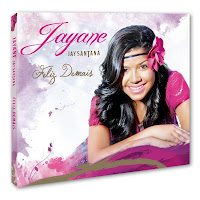 Capa oficial do CD Feliz Demais de Jayane